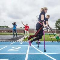 'Irish cancer survivor to attempt world record for fastest 5km - on crutches'